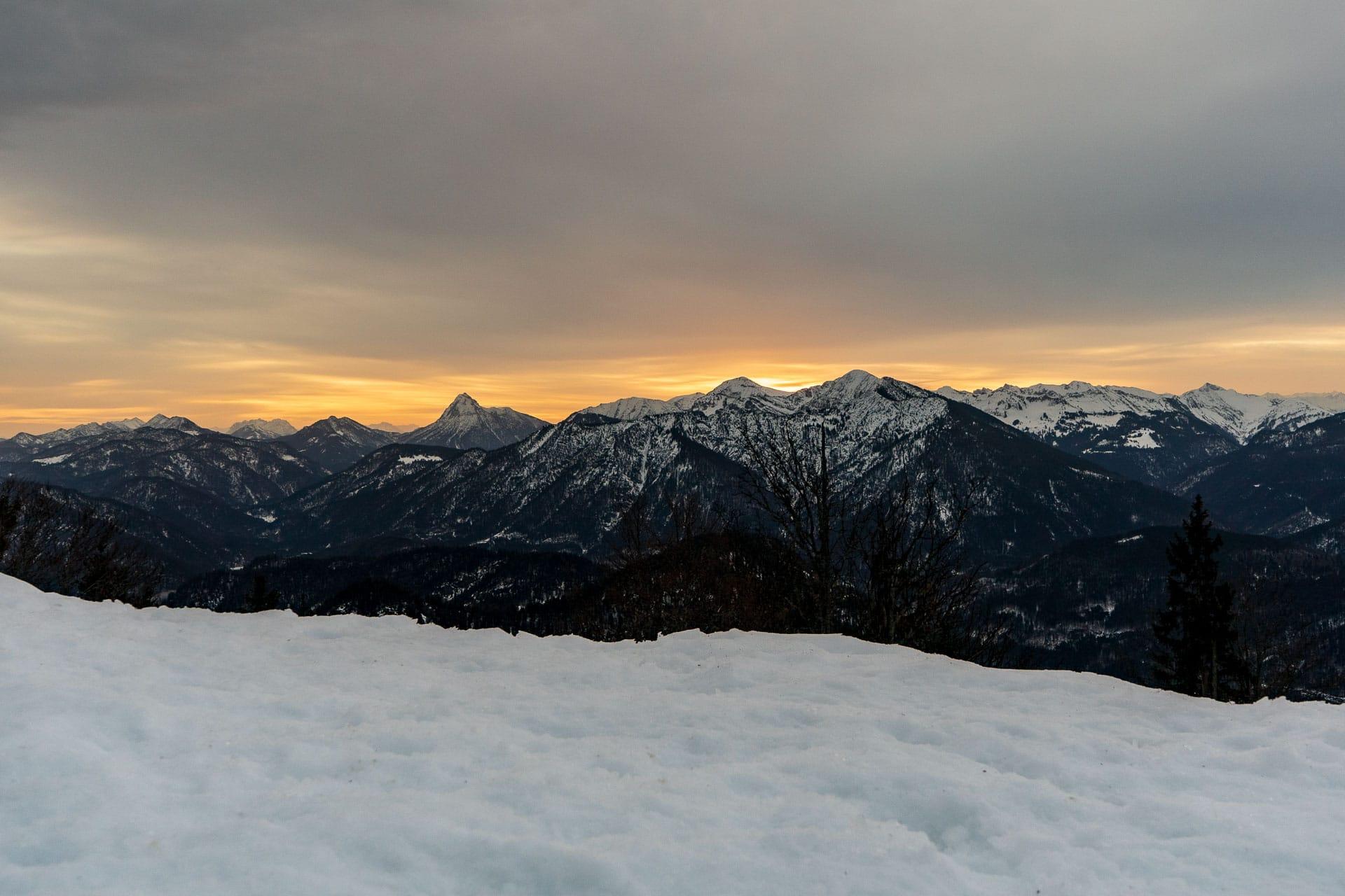 Sonnenaufgang am Staffel