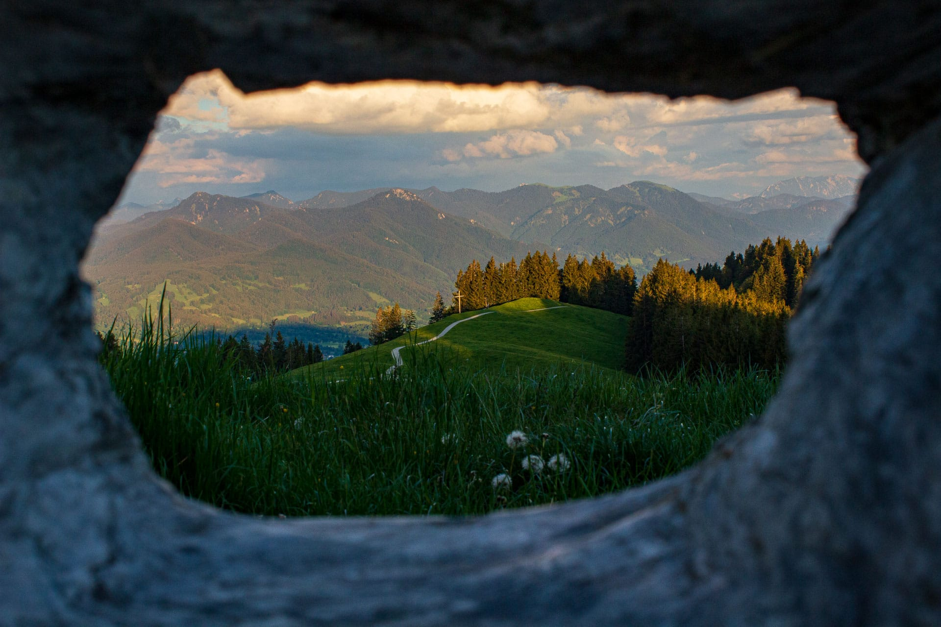 Blick vom Blomberg