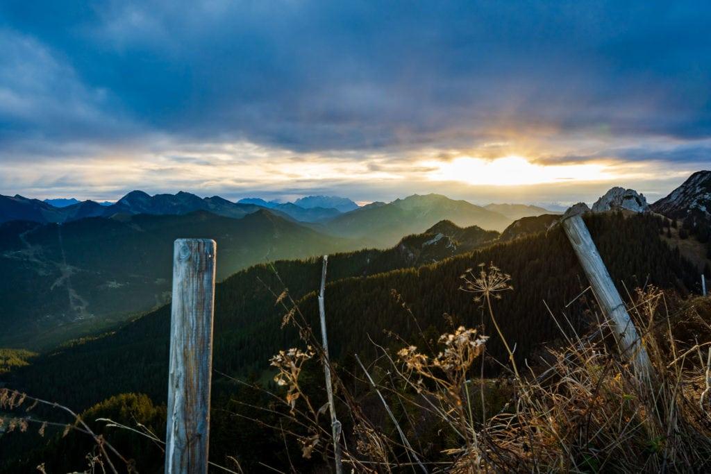 Sonnenaufgang am Setzberg