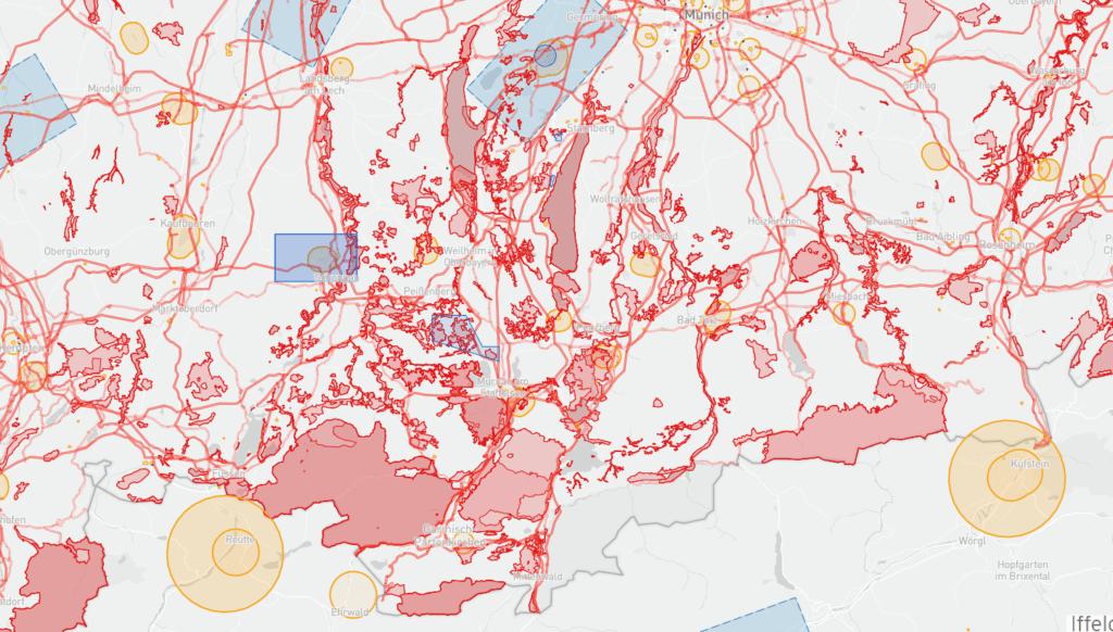 Umweltverträgliches Wandern: Drohnenflugverbotszonen in Oberbayern