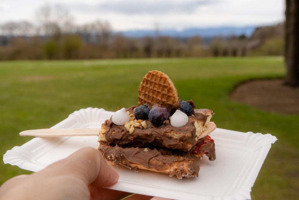 Kuchen To-Go im Café Herzblut