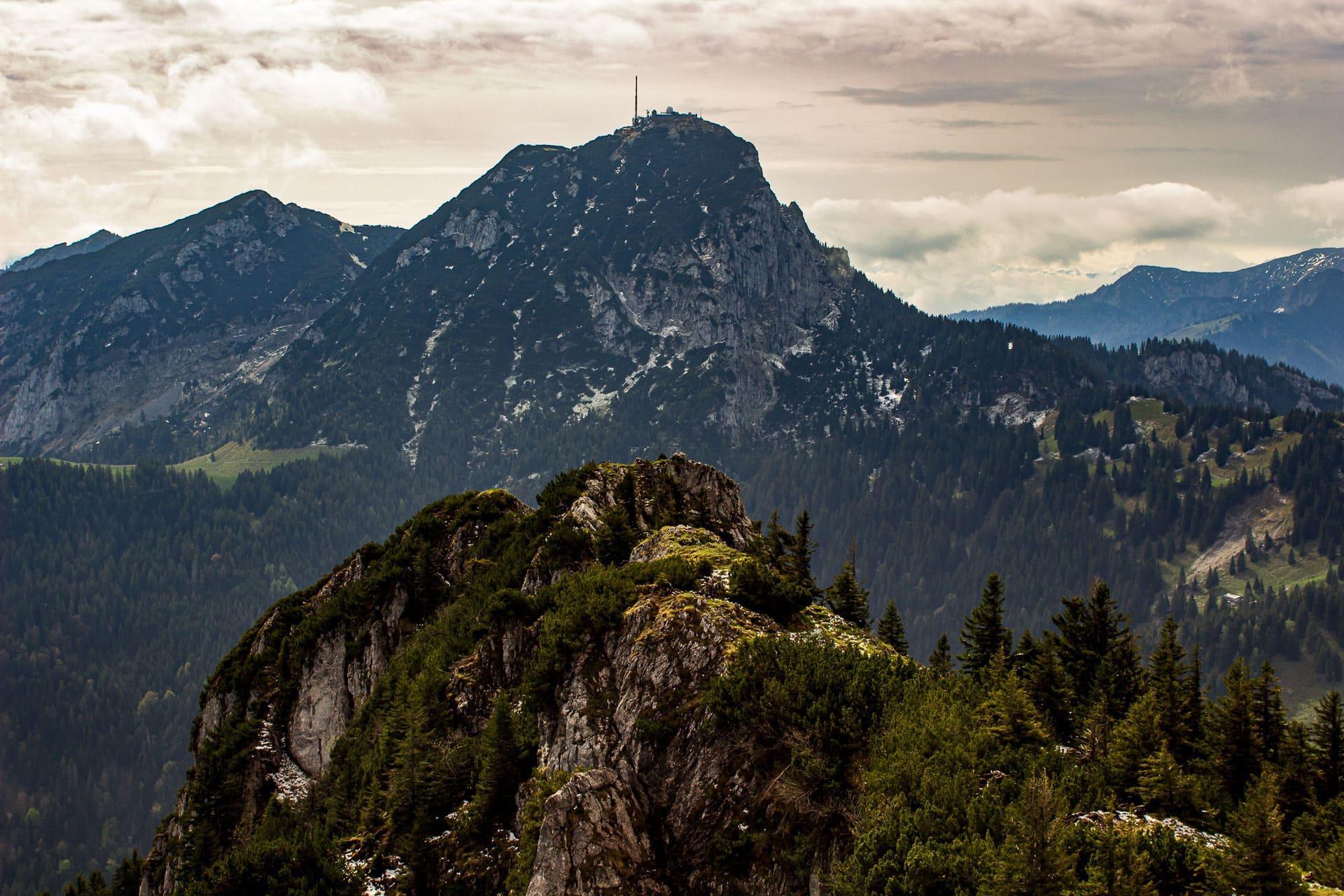 Breitenstein: Blick Richtung Wendelstein