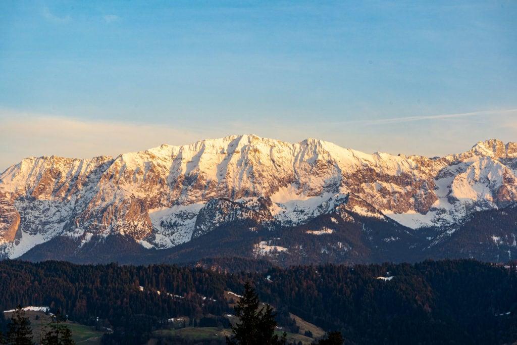 Wank: Blick aufs Karwendel